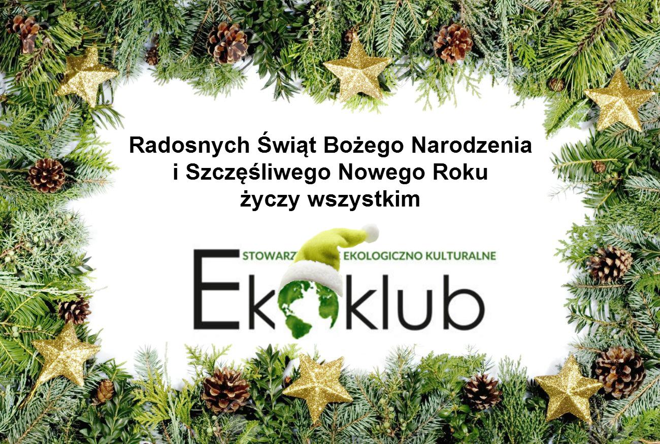 Ekoklub życzy wszystkim Wyjątkowych Świąt!
