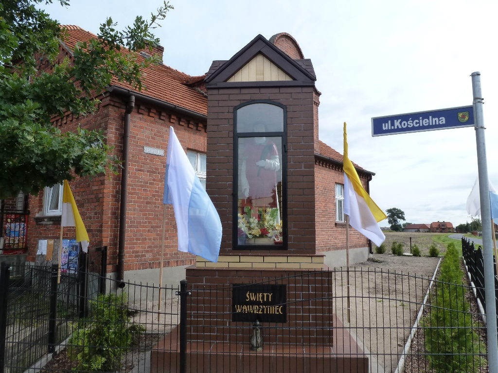 Kapliczka Św. Wawrzyńca w Wielowsi odrestaurowana